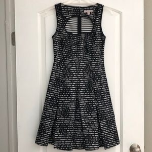 Banana Republic Lace Fit and Flare Dress